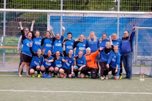 Die Staffelmeister der FKL 02 - tus BERNE 1. Frauen - Foto: tus BERNE