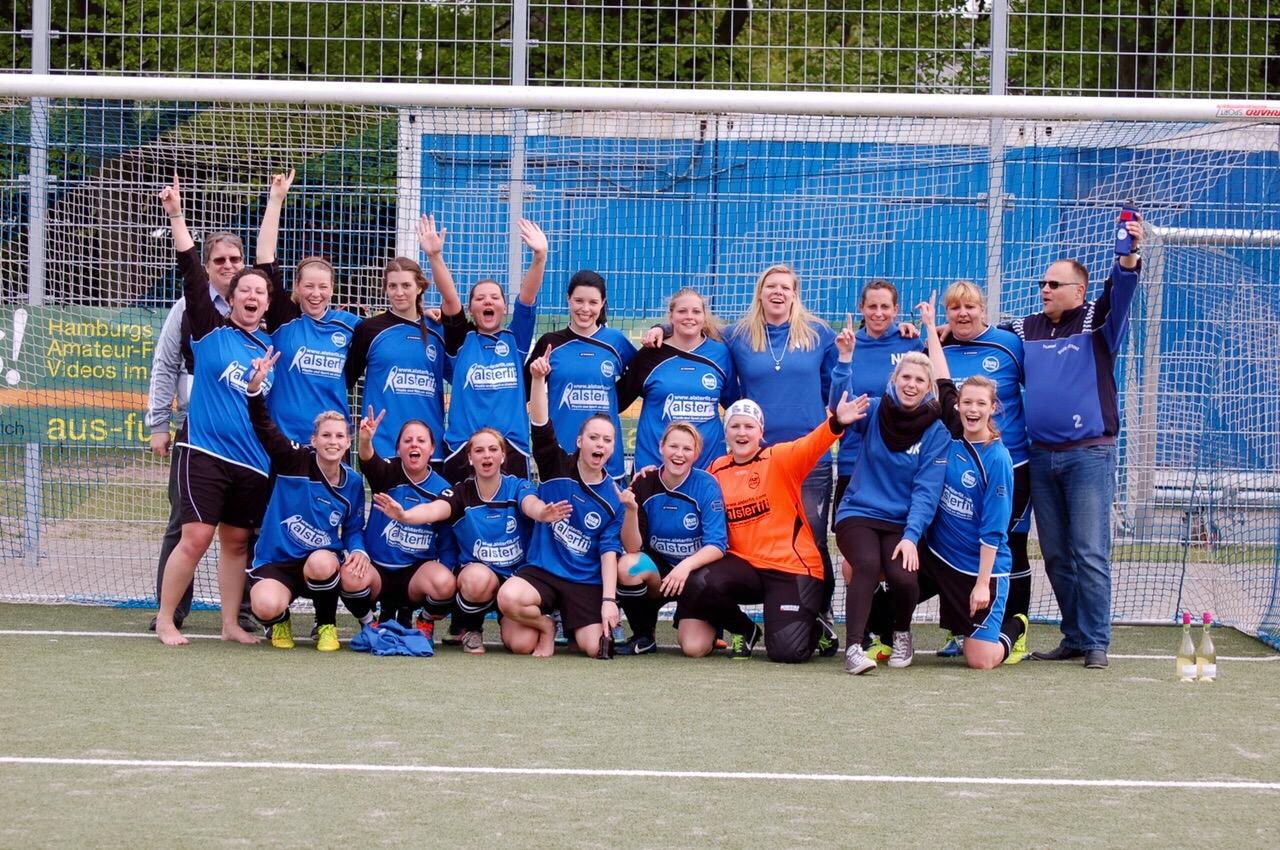 Staffelmeisterschaft der Damen – Aufstieg in die Bezirksliga!