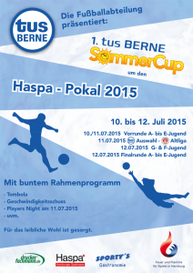 SommerCup Plakat