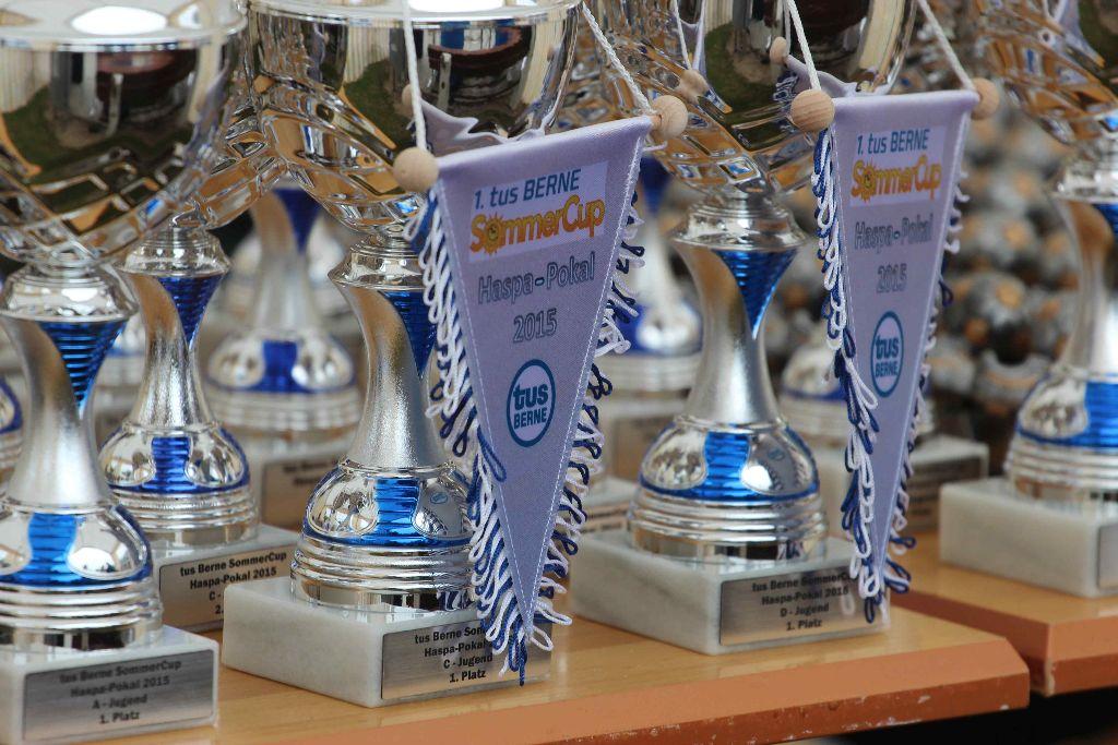 1. tus BERNE SommerCup um den Haspa-Pokal 2015 – Ein voller Erfolg!