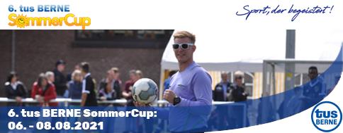 Neuer Termin für den 6. tus BERNE SommerCup steht!