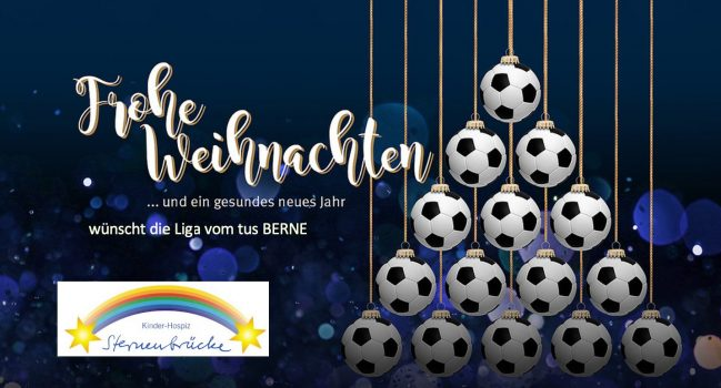 Weihnachtsgrüße der Liga: Spenden für die Sternenbrücke