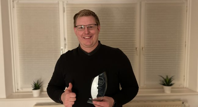 Mike Franke ist Ehrenamtler des Jahres 2020