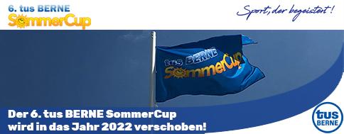 Der 6. tus BERNE SommerCup wird in das Jahr 2022 verschoben!