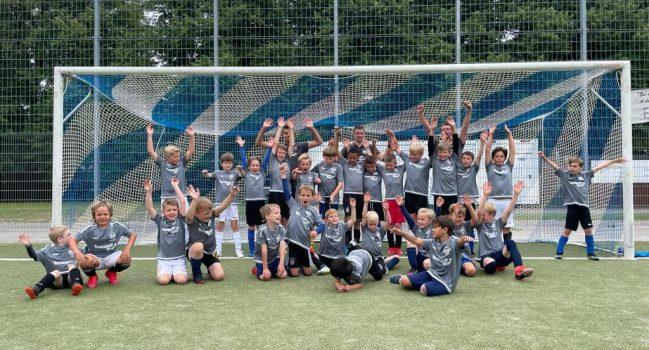Fußballschule mit viel Begeisterung und Freude